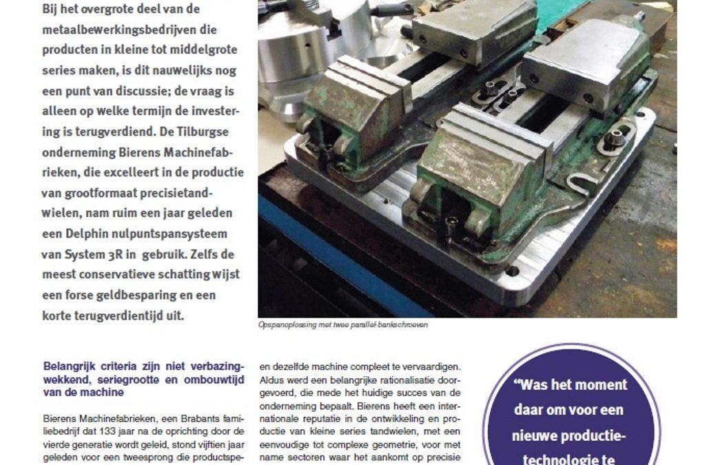 13-01 Metaal magazine, Bierens nulpuntspansysteem