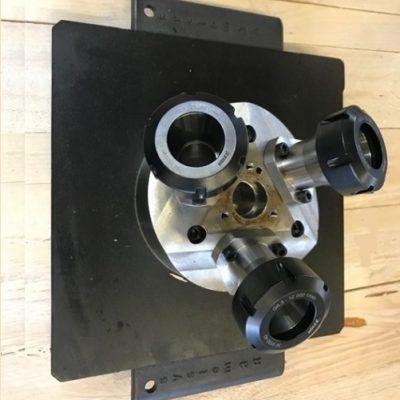 Dynafix with collet holder
